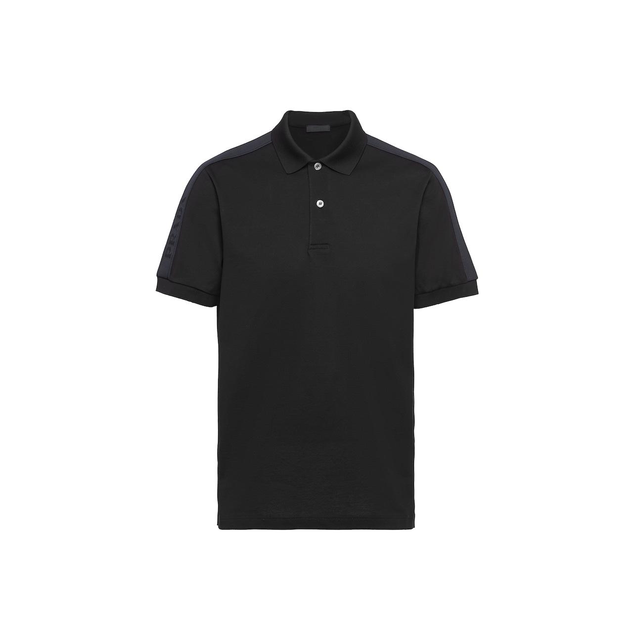 Prada 珠地棉Polo 衫 1