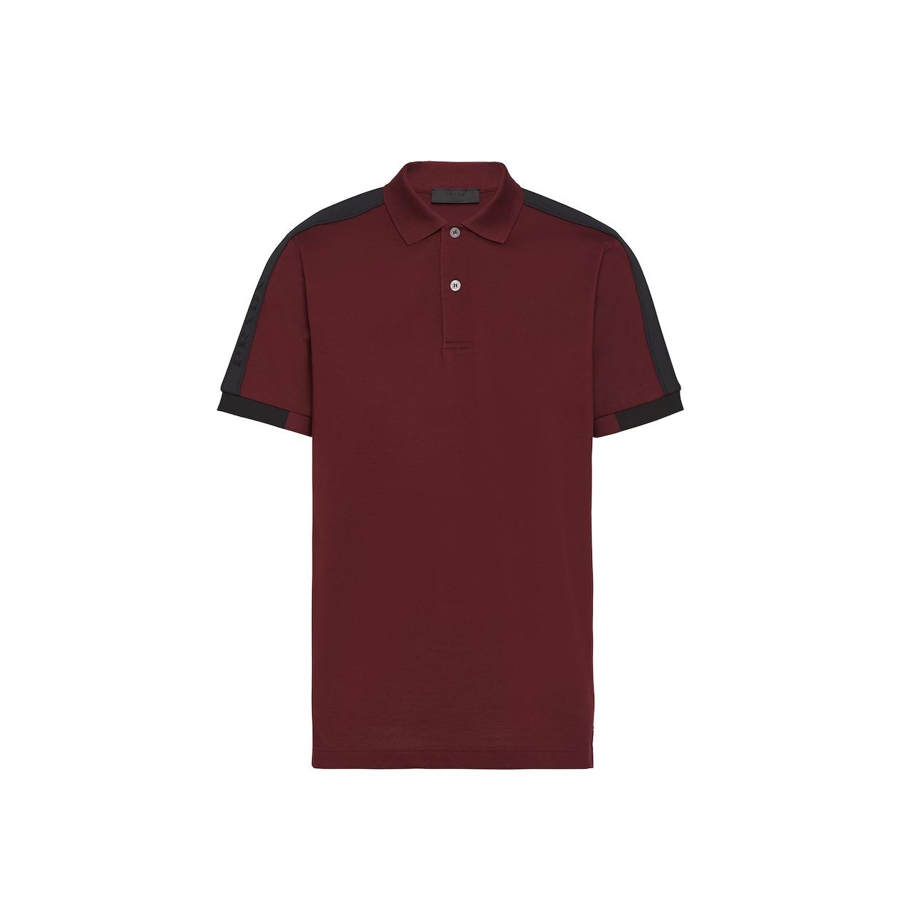 Prada Piqué polo shirt 1