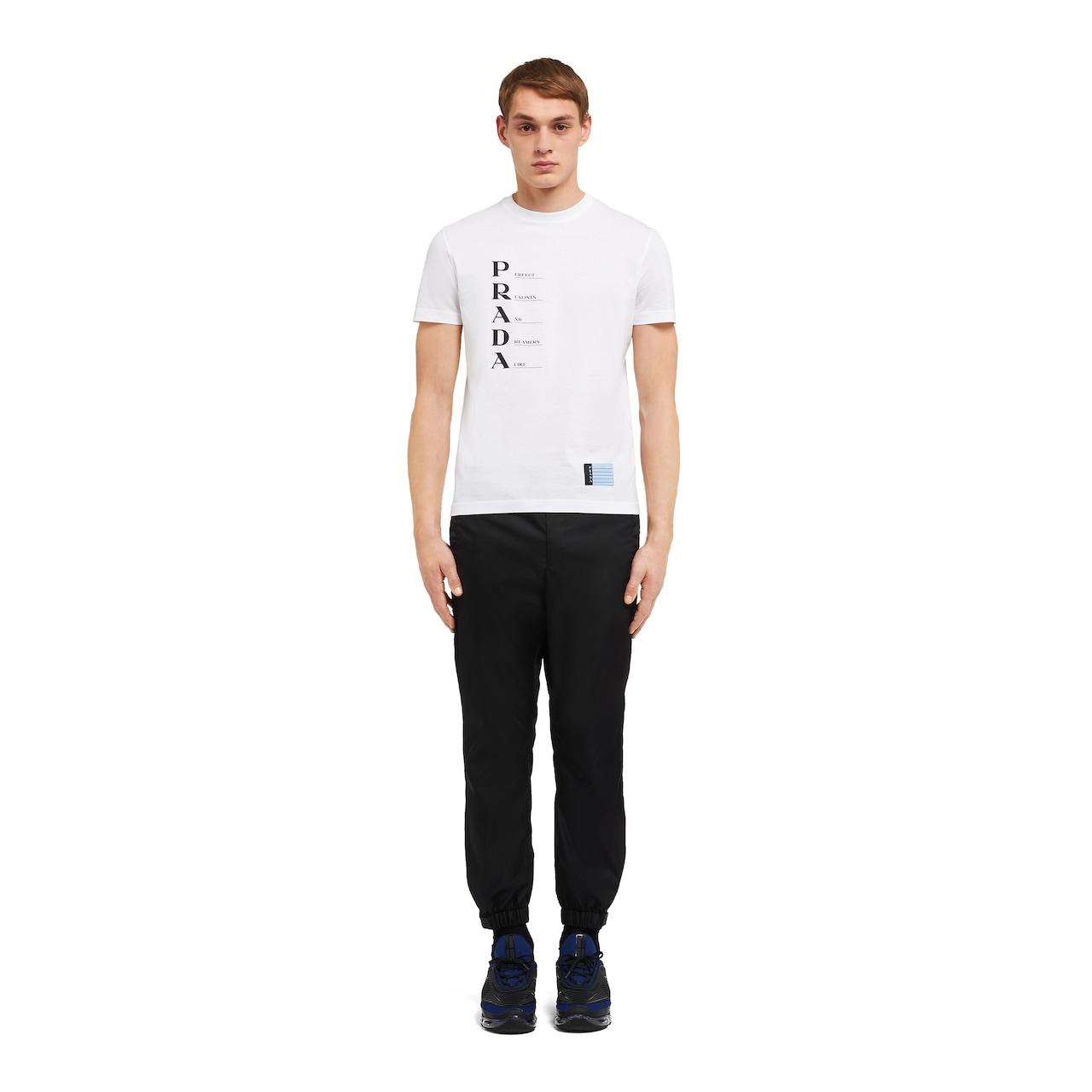 Prada Cotton Jersey T-shirt 2
