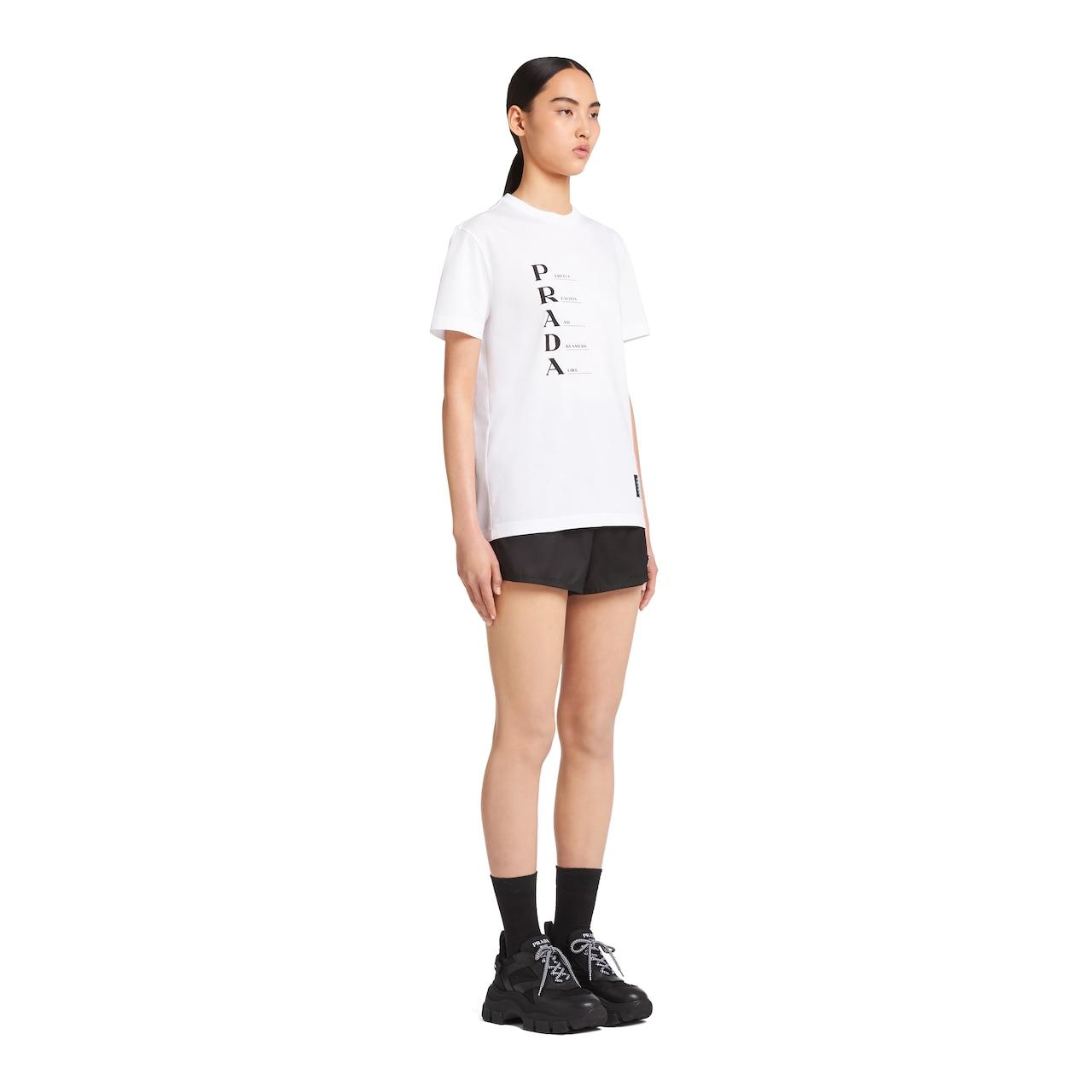 Prada Cotton Jersey T-shirt 5