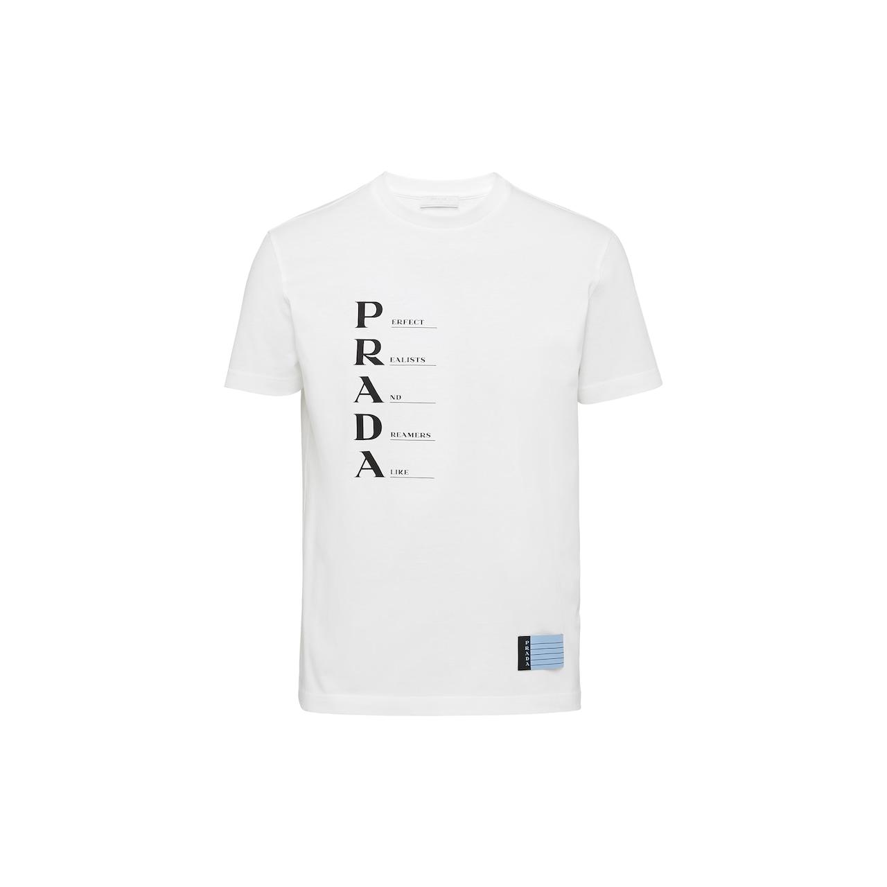 Prada Cotton Jersey T-shirt 1