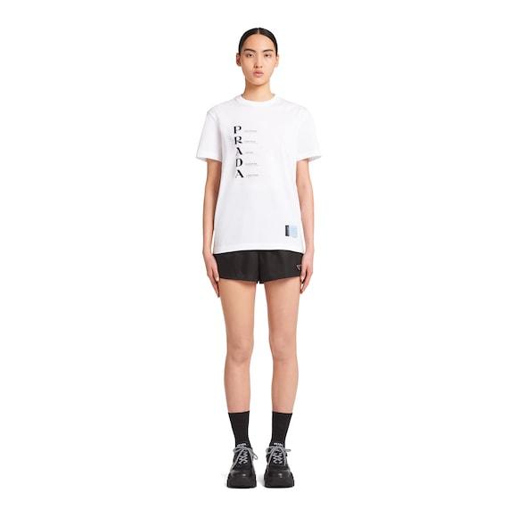 Prada 印花平纹针织T恤 2
