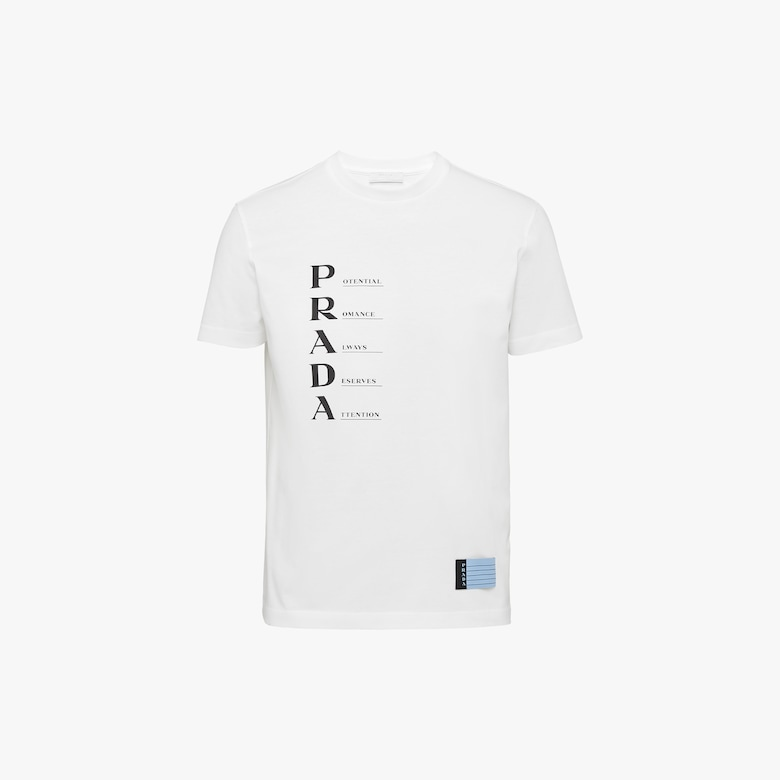 Prada Printed jersey T-shirt - Woman