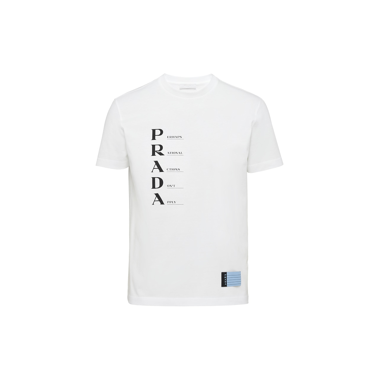 Prada Printed jersey T-shirt 1