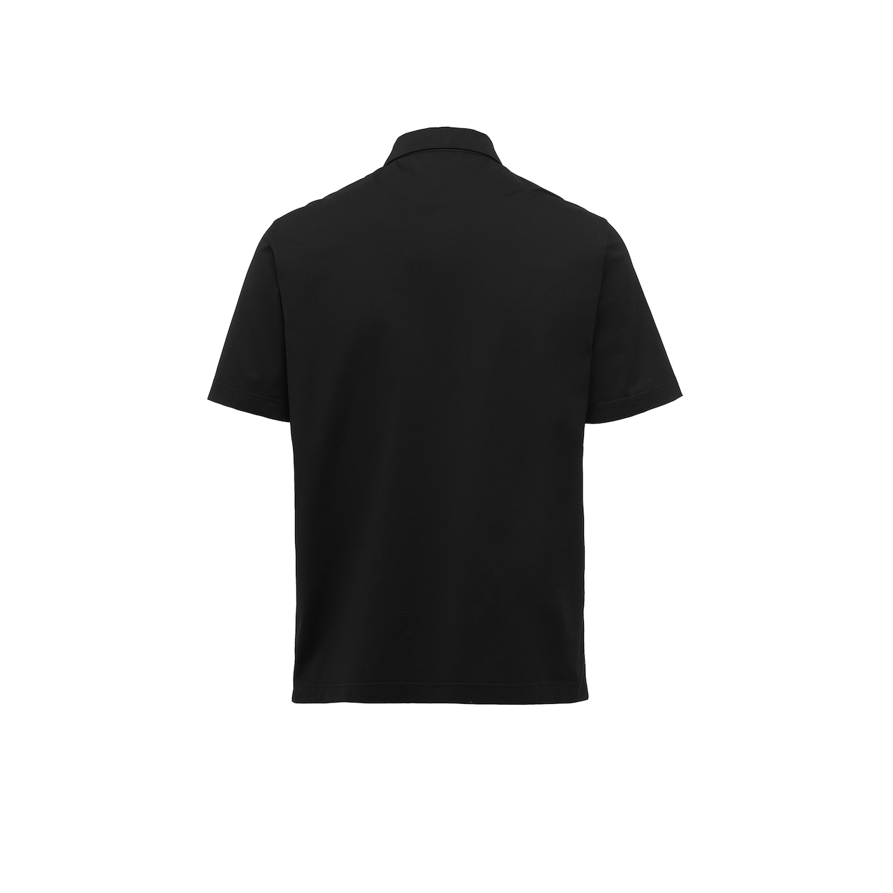Short-sleeved stretch cotton polo shirt 2