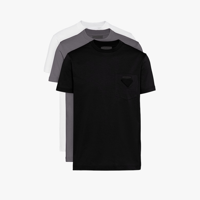Prada Jersey T-shirt, three-pack - Man