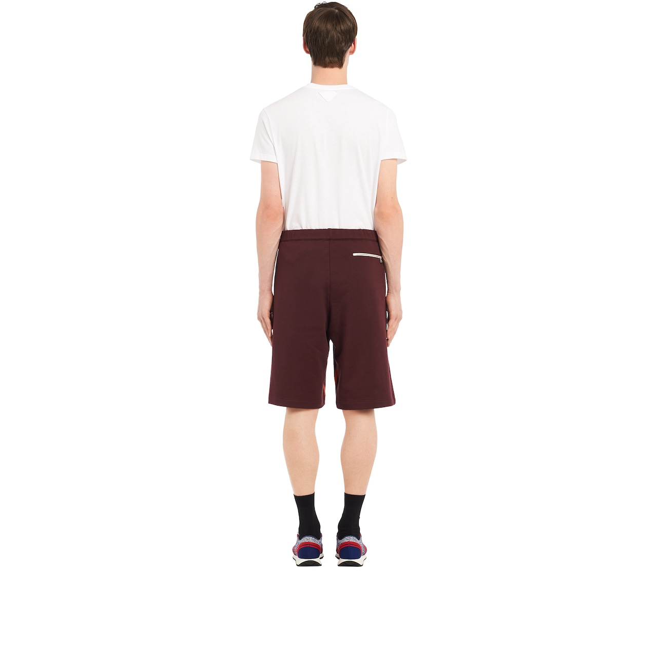 Bermudas with side inserts