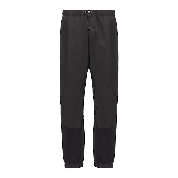 Cotton and nylon jogging pants