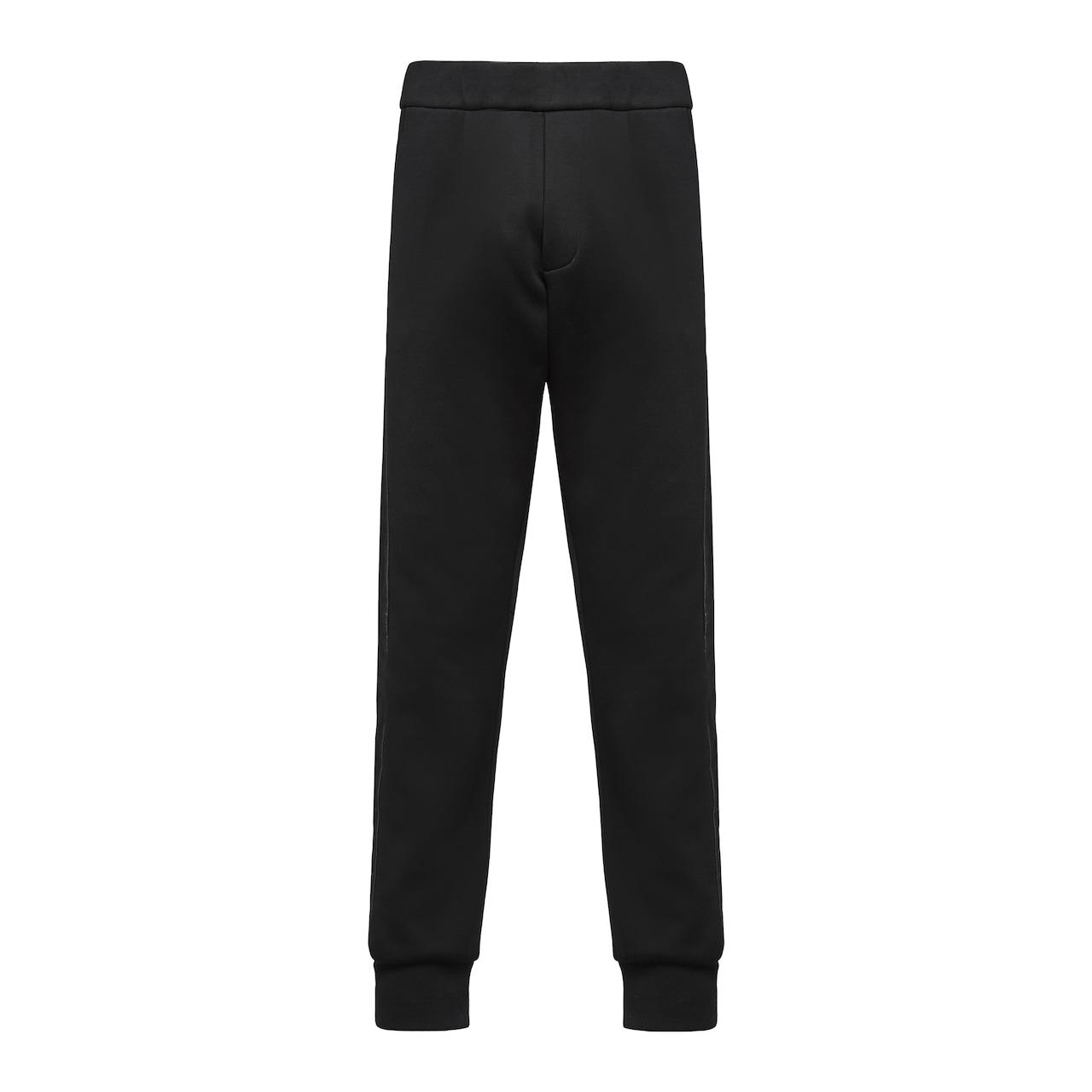 Technical cotton fleece trousers