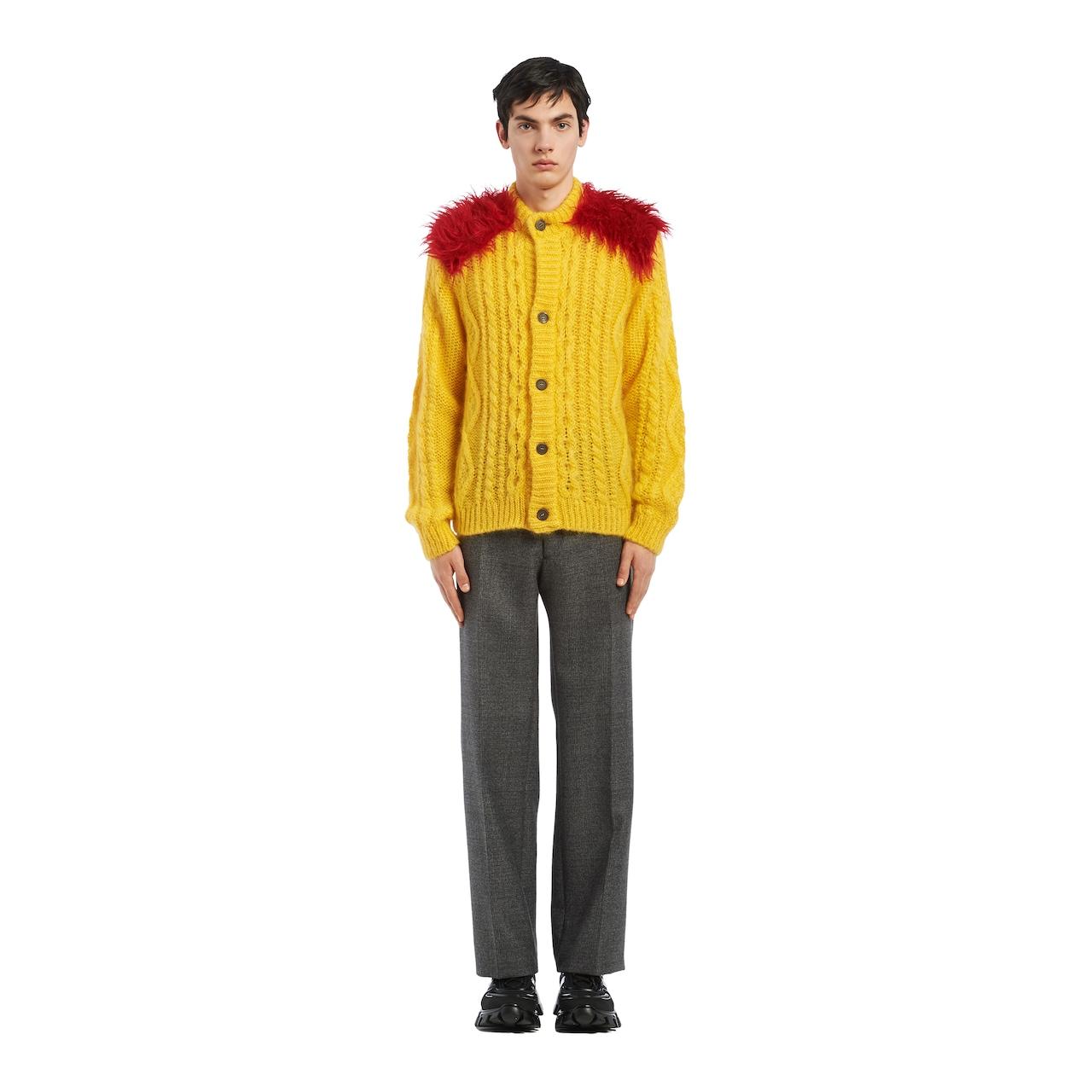 Prada Wool and mohair cardigan 2