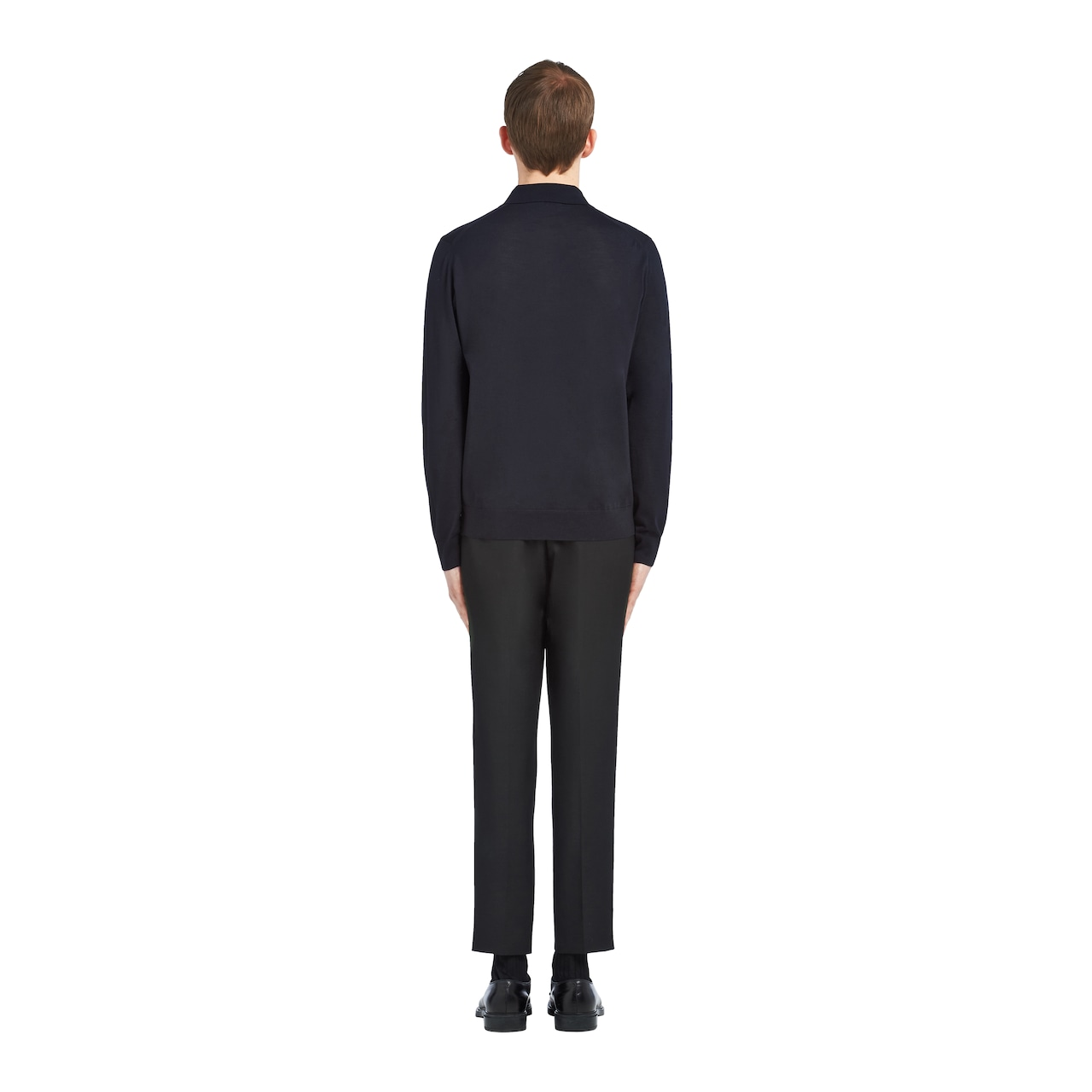 Prada 精纺羊毛Polo衫 4