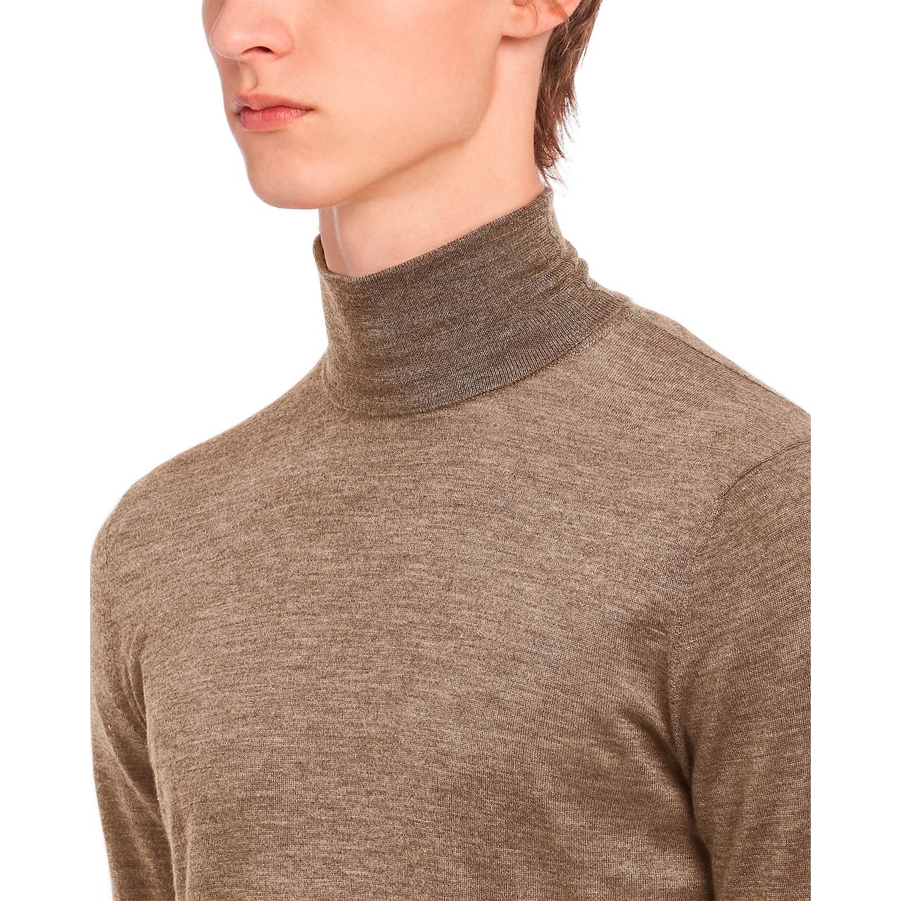 Prada 高领羊绒衫 5