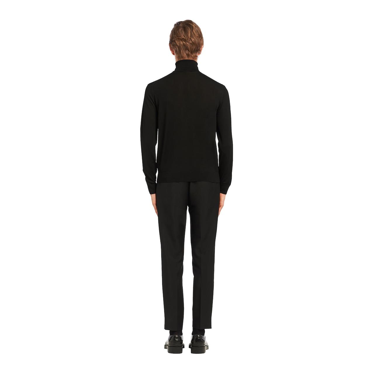 Prada 高领羊毛衫 4
