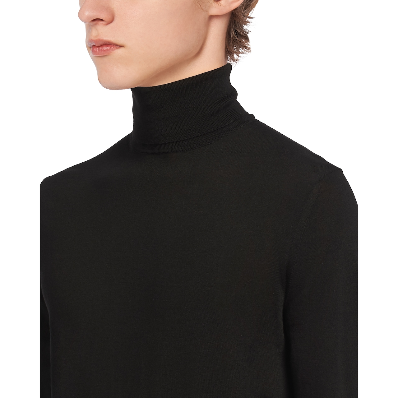 Prada 高领羊毛衫 5