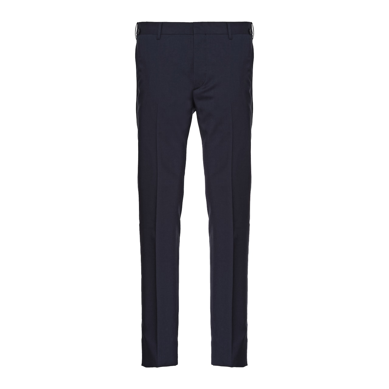 Wool and mohair trousers