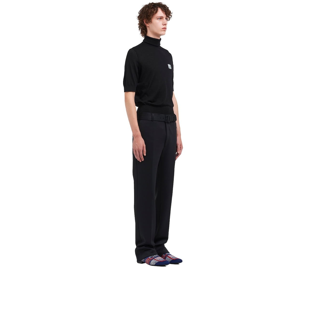 Technical jersey trousers