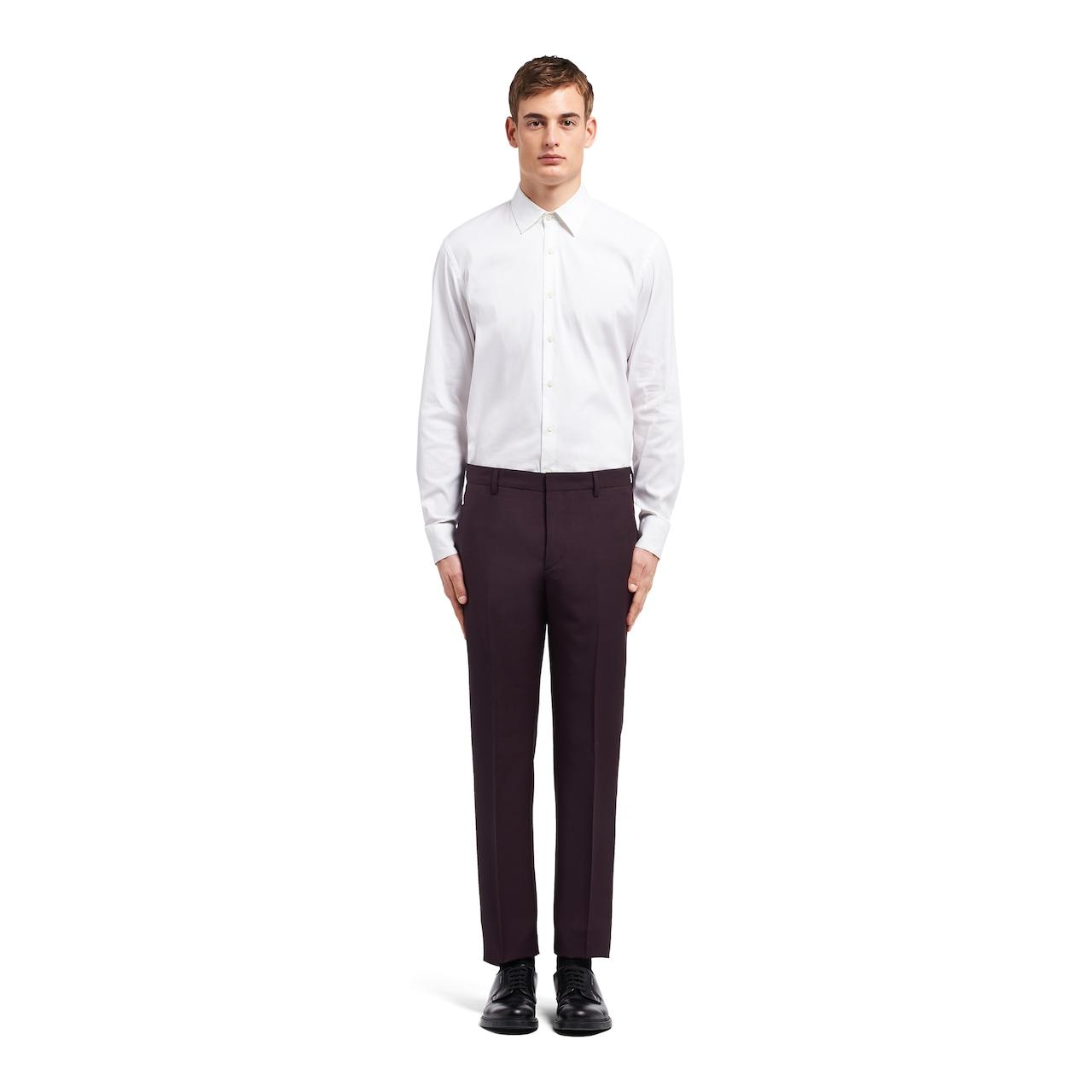 Prada Light kid mohair trousers 2