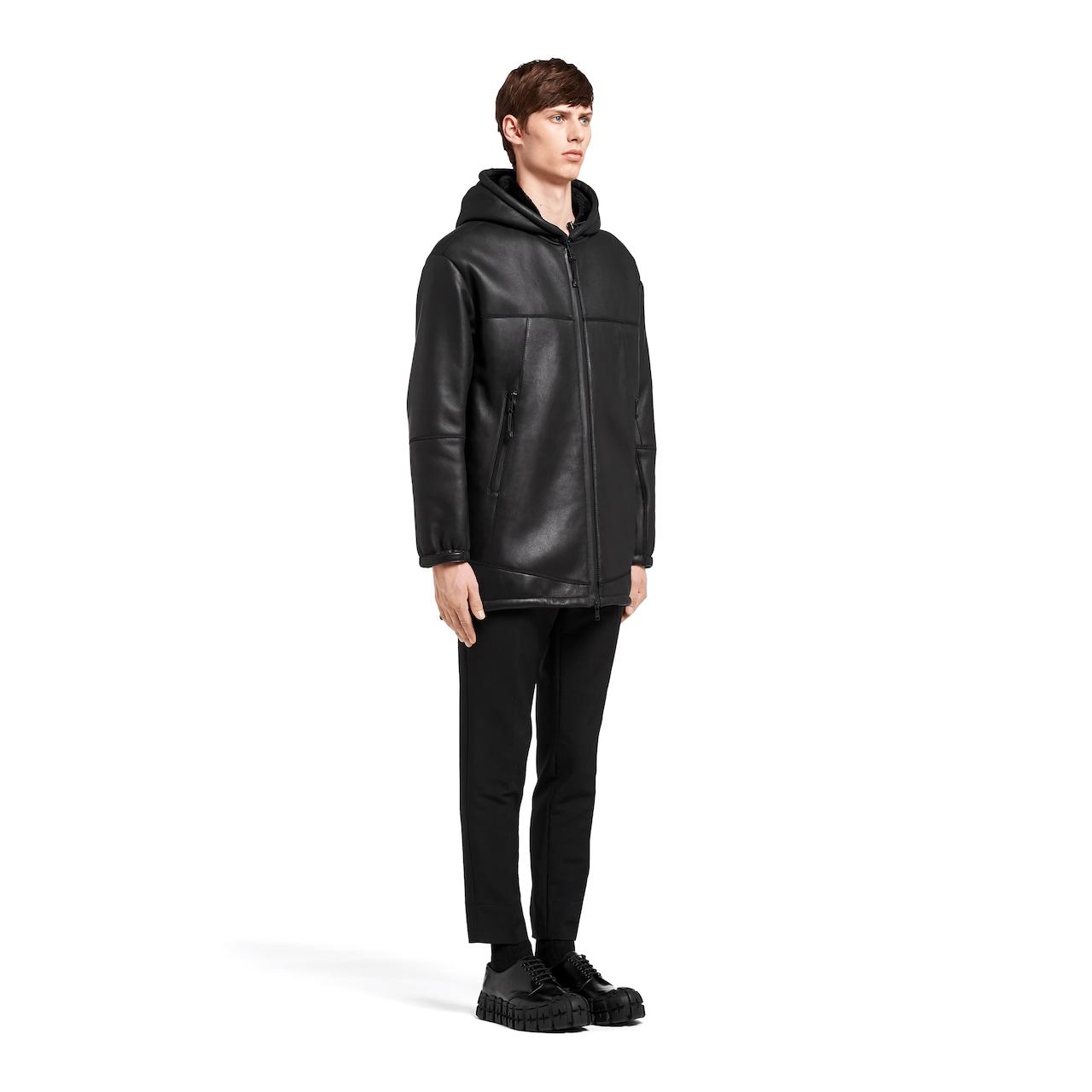 Nappa sheepskin coat