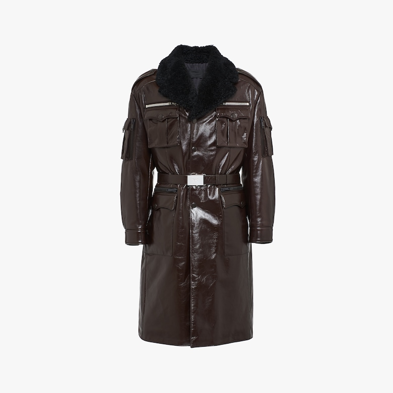 Long lux calf coat