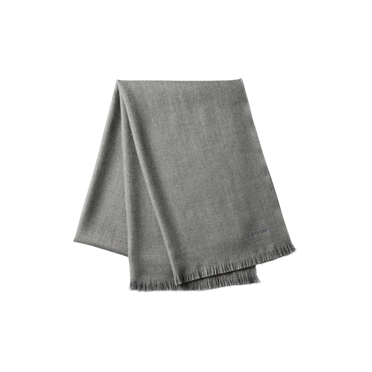 Prada Wool Twill Scarf 1