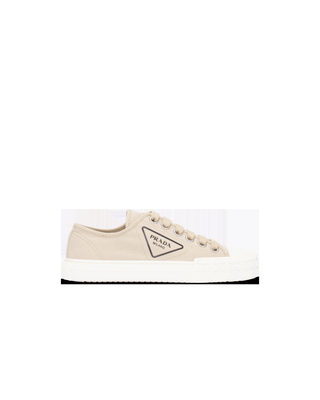 Cotton canvas sneakers | Prada