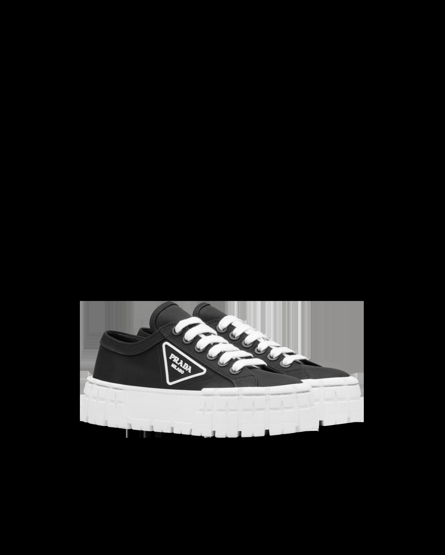 Nylon gabardine sneakers | Prada