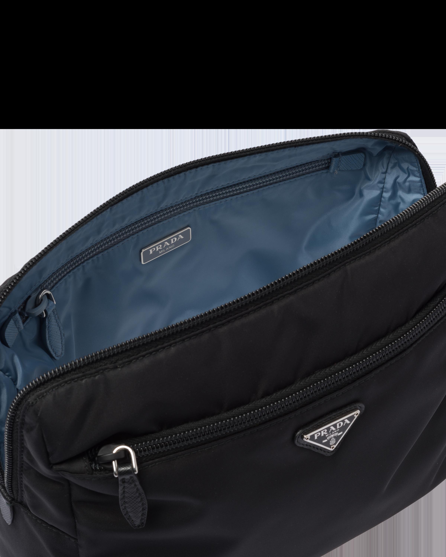 PRADA hombre bolsa de viaje con correa para el Hombro Nylon