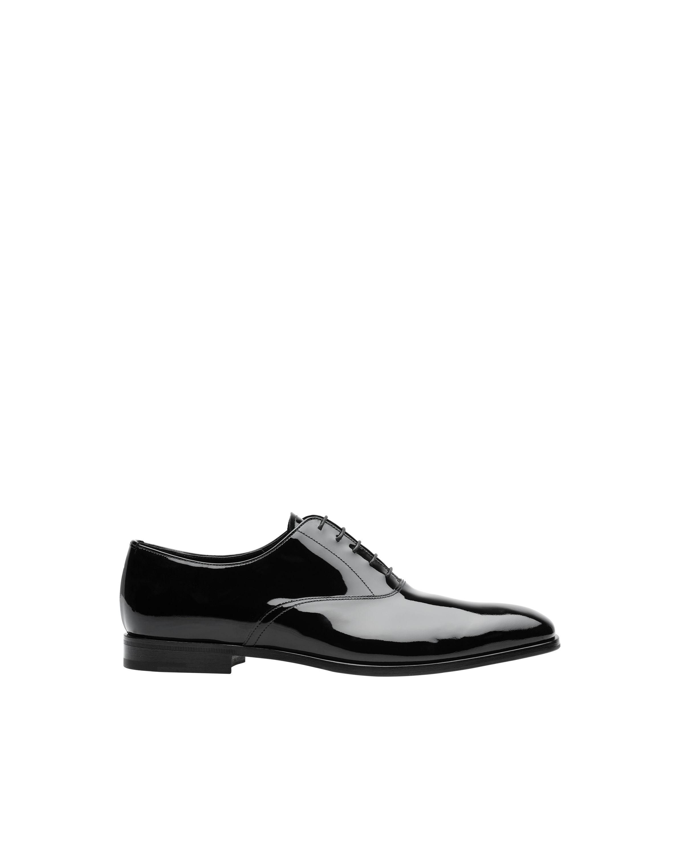 Patent leather Oxford shoes | Prada