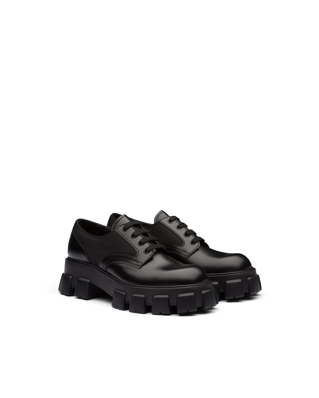prada leather shoes