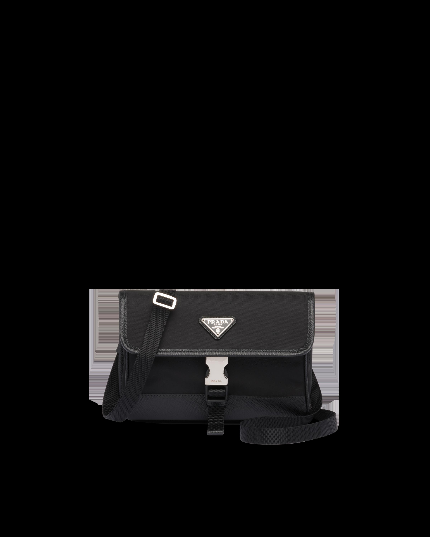 Prada Porta Smartphone in Nylon e Saffiano 1