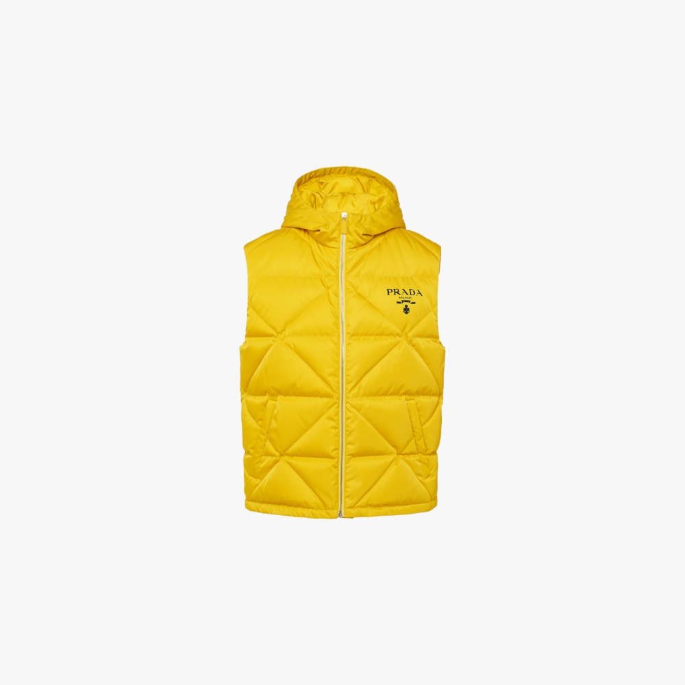 Prada Re-Nylon down vest 1